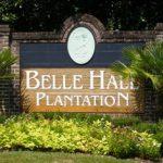 Belle Hall neighborhood entrance in Mount Pleasant, SC