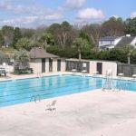one of the Snee Farm, Mount Pleasant community pools